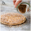 Steps 5a, 5b, and 5c - Cover Cookie with Sanding Sugars: Cookie and Photos by Aproned Artist