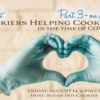 Banner for Cookiers Helping Cookiers in the Time of COVID-19 - Part 3: Image from Shutterstock; Graphic Design by Julia M Usher