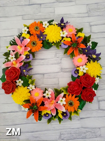 Flower Wreath Cookie