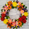 Flower Wreath Cookie: Cookie and Photo by Zeena