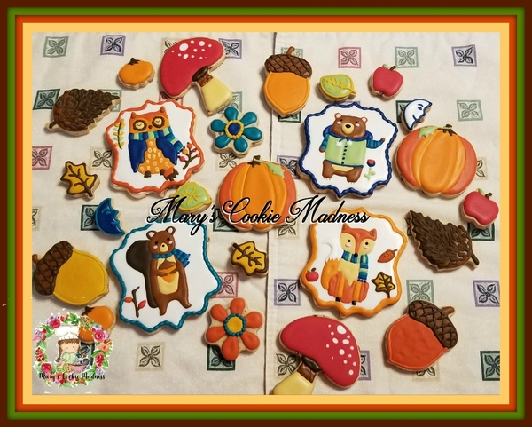 #8 - Fall Designs 2020 by Mary's Cookie Madness