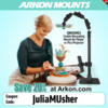 Arkon® Discount Code - JuliaMUsher: Photo by Mattea Linae; Graphic Design by Arkon® Mounts