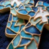 Stained Glass Crosses: Cookies and Photo by Sandra Garvey