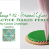 Practice Bakes Perfect Challenge #42 Banner: Photo by Steve Adams; Logo by Sweet Prodigy; Graphic Design by Julia M Usher