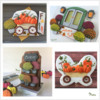 Fall-Inspired Cookies from Manu's Past Tutorials: Designs, Cookies, and Photos by Manu
