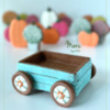 3-D Wagon Cookie, Empty!: Design, 3-D Cookie, and Photo by Manu