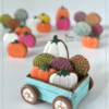 3-D Wagon Cookie Filled with Fall-Themed Cookies: Design, 3-D Cookie, and Photo by Manu
