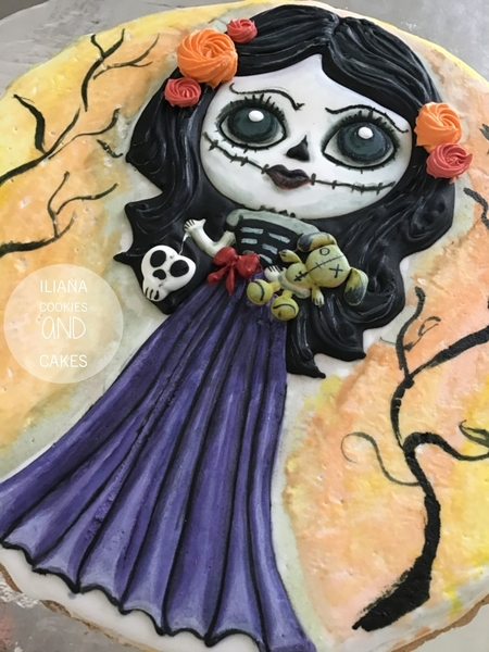 #1 - Halloween Doll by Iliana Hernández