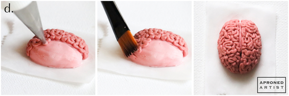 Step 1d - Pipe Texture on Brain