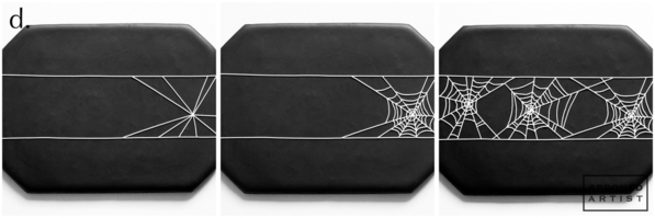 Step 5d - Pipe Spiderweb Table Runner