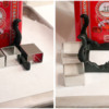 Step 6a - Assemble Table Leg Base: Cookies and Photos by Aproned Artist