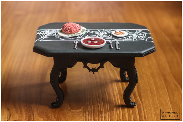 Final Dracula's Dinner Cookie Front View