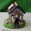 Easter House: 3-D Cookie and Photo by Cookies Fantastique