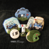 Father's Day Golf-Themed Set: Cookies and Photo by Cookies Fantastique