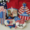 Fourth of July Set: Cookies and Photo by Cookies Fantastique