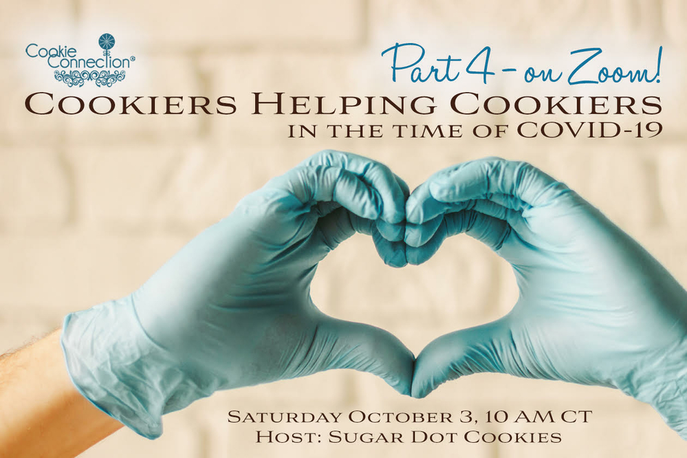 Cookiers Helping Cookiers in the Time of COVID-19, Part 4: A Live Zoom Chat