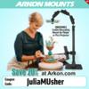 Arkon® Discount Code - JuliaMUsher: Photo by Mattea Linae; Graphic Design by Arkon® Mounts