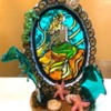 Stained Glass Mermaid: Cookie and Photo by Nazia