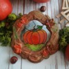 My Autumn - Pumpkin on Isomalt: Cookie and Photo by Edyta Kołodziej