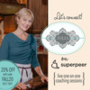Julia's New Superpeer Sessions - 20% Off!: Photo by Mattea Linae; Graphic Design by Julia M Usher
