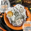 Halloween Stencil Sale - 15% Off!: Cookies and Photo by Julia M Usher; Stencils by Julia M Usher with Confection Couture Stencils; Graphic Design by Confection Couture Stencils