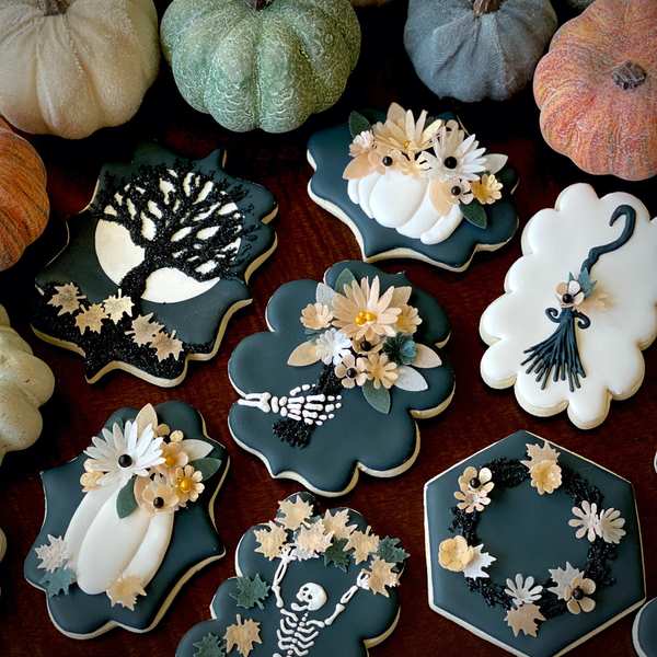 #1 - Sweetly Spooky - Class-y Cookies by Danielle Robinson