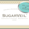 SugarVeil®  Affiliate Program Banner: Logo Courtesy of SugarVeil®; Graphic Design by Julia M Usher