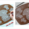 Steps 1a and 1b - Cut Out Cookies and Holes: Design and Photos by Manu