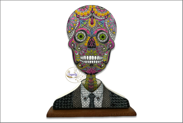 #1 - Sugar Skull in Suit by iSugarfy (aka swissophie) BORDER