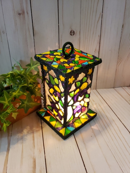 #2 - Stained Glass Lantern by Zeena