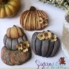 #3 - Hand-dusted Pumpkins: By Tina at Sugar Wishes