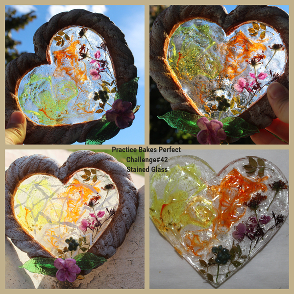 #7 - Stained Glass Heart by Petra Florean