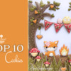 Top 10 Cookies Banner, October 17, 2020: Cookies and Photo by Evelindecora