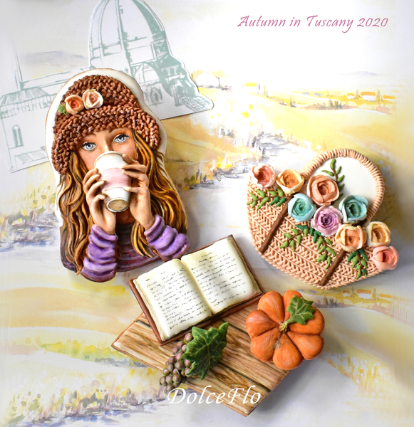 #1 - Autumn in Tuscany by Dolce Flo