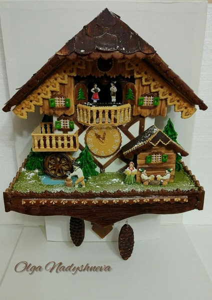 #2 - Часы с кукушкой (Cuckoo Clock) by Olga Nadyshneva