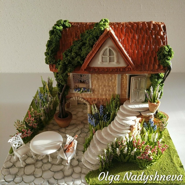 #8 - 3-D Summer House with Patio by Olga Nadyshneva