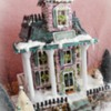 Victorian Gingerbread House: Gingerbread House and Photo by Kim-Sugar Rush Custom Cookies