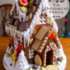 "From My Book ""A Year of Gingerbread Houses"" 2014: Gingerbread House and Photo by Kristine - The Gingerbread Journal"