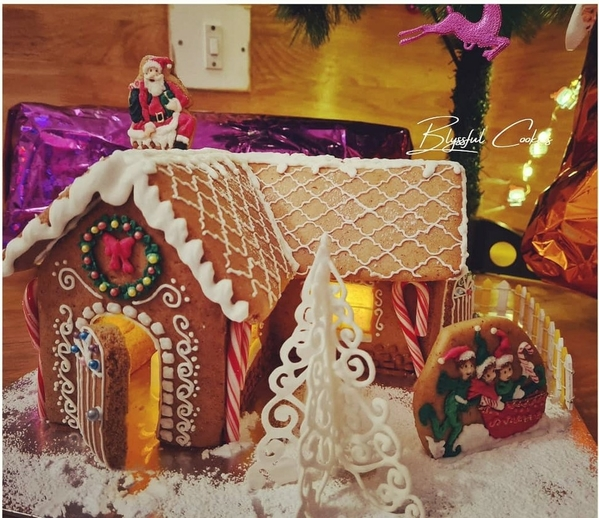 Moroccan-Style Gingerbread House