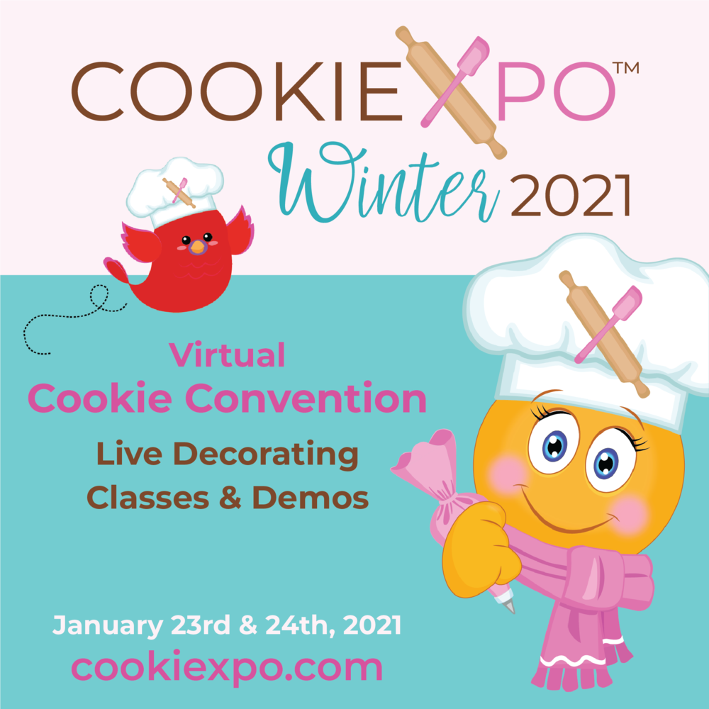 Julia at Virtual Cookiexpo 2021!