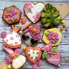 Tropical Baking Set: Cookies and Photo by Di Art Sweets