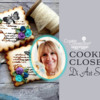 Cookier Close-up Banner for Di Art Sweets: Cookies and Photos by Di Art Sweets; Graphic Design by Julia M Usher