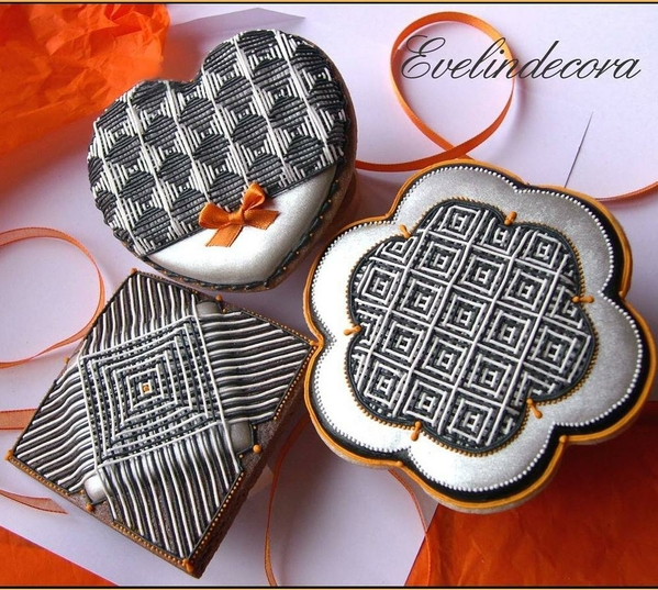 Optical Illusion Cookie by Evelindecora