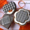 Optical Illusion Cookies: Cookies and Photo by Evelindecora