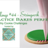 Practice Bakes Perfect Challenge #44 Banner: Photo by Steve Adams; Cookie and Graphic Design by Julia M Usher; Logo Courtesy of Sweet Prodigy