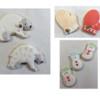Polar Bears, Snowmen, Mittens