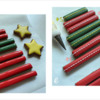Steps 2d and 2e - Flood Cookie Sticks and Star Cookies, and Decorate Cookie Sticks: Design, Cookies, and Photos by Manu