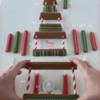 Step 5 Continued - Stack Layers of Cookies to Create Lantern: Design, Cookies, and Photo by Manu