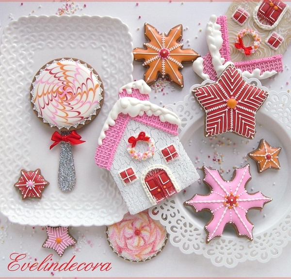 #1 - Christmas Cookies by Evelindecora