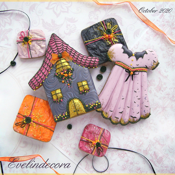 #3 - Halloween Cookie by Evelindecora